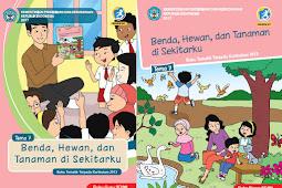 Buku Kurikulum 2013 SD/MI Kelas 1 Tema 7 Edisi Revisi 2017 Untuk Guru dan Siswa