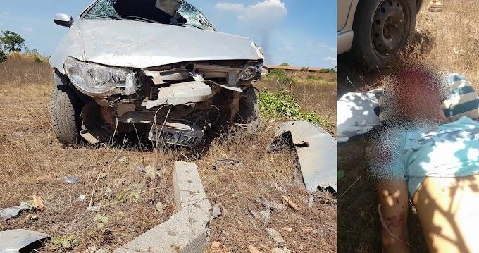 Grave acidente próximo a Brejo deixa uma pessoa gravemente ferida
