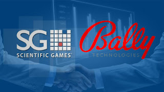 Bally Technologies and Scientific Games Merger Agreement
