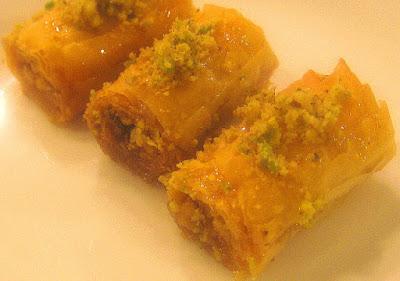 Lebanese Baklava Rolls