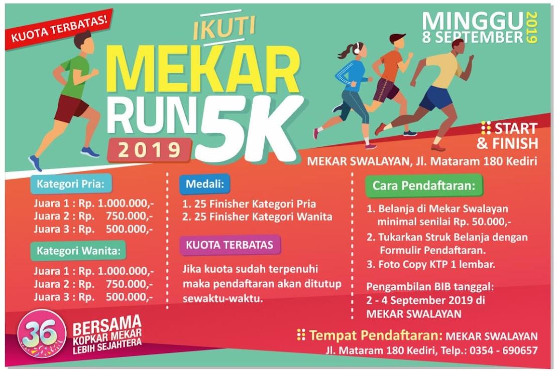 Mekar Run 5K • 2019