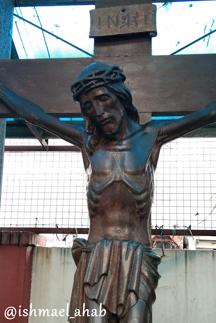 Crucified Jesus in Our Lady of Sorrows Church in Pasay