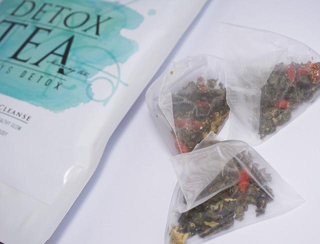 Örtte - 28 Tage Detox Tee Kur, Wellness, Grüner Tee, Lavendel, Goji Beeren, Kamille