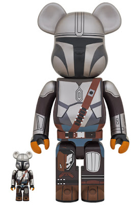 The Mandalorian Be@rbrick Star Wars Vinyl Figures by Medicom Toy