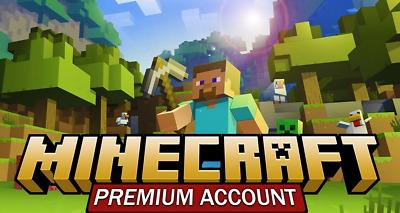 Minecraft Premium Accounts 2022 [ +2k Minecraft Premium Accounts ] Daily Bins