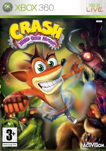 Crash Mind Over Mutant - Xbox 360 - Spanish - Portada