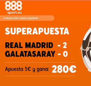 888sport superapuesta champions Real Madrid vs Galatasaray 6 noviembre 2019