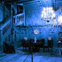 GenieFunGames - GFG Gothic Blue Room Escape