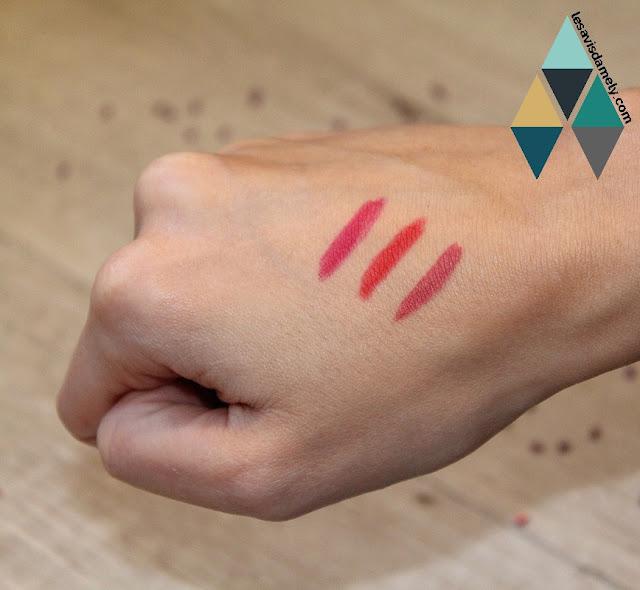 rouge à lèvres précis et mat