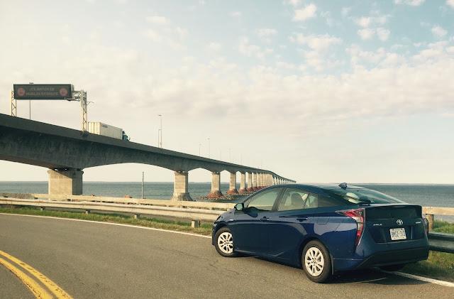 2016 Toyota Prius Confederation Bridge