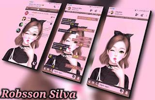 Anime Smile Girls Theme For YOWhatsApp & Fouad WhatsApp By R̳o̳b̳s̳s̳o̳n̳