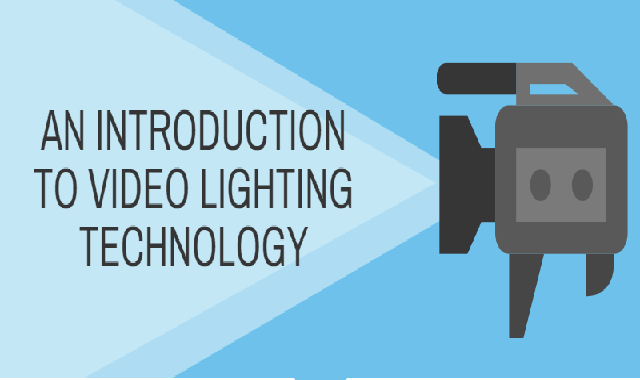 An Introduction to Video Lighting Technology #infographic