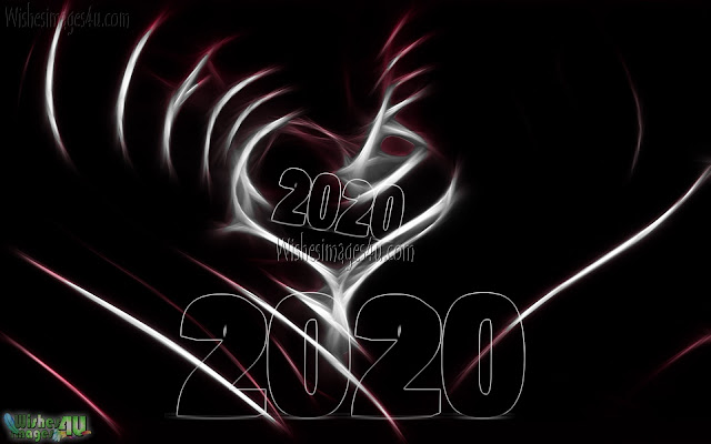 New Year 2020 Love Full HD Wallpapers