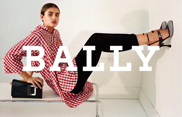 Taylor Hill stars in the Bally Fall/Winter 2017 Campaign