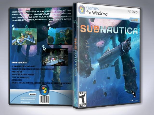 Capa Subnautica PC