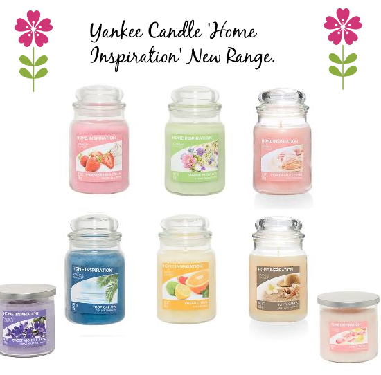 yankee candle 39 s new 39 home inspiration 39 range sweet. Black Bedroom Furniture Sets. Home Design Ideas