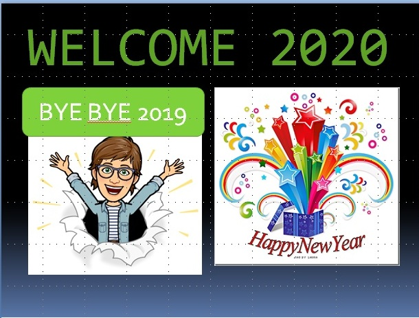 Happy New year 2020 Image, Bye bye 2019 Image, Welcome 2020 Image for facebook status