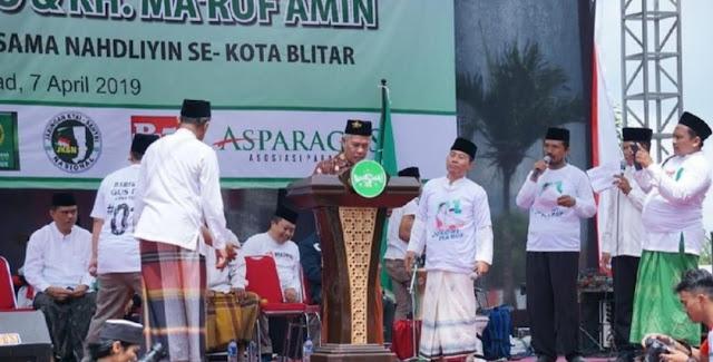 Ketua PWNU Jatim: Wong NU Ora Dukung Jokowi, Berarti Wong NU Goblok