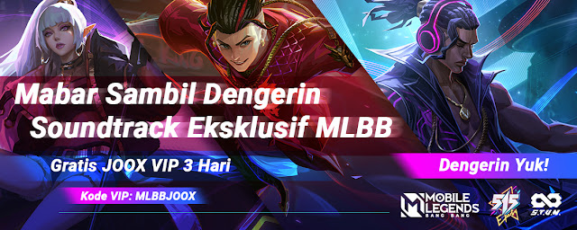 mobile legends x joox together