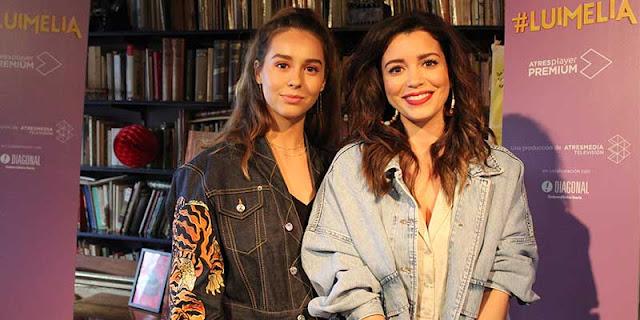 Entrevista Carol Rovira (Amelia) y Paula Usero (Luisita) en la presentación de 'Luimelia'