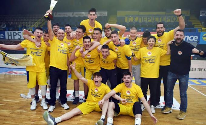 Πρωταθλητές στην Αθήνα οι έφηβοι του Περιστερίου