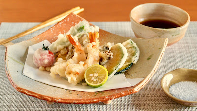Tempura Moriawase (Assorted Tempura with Seafood and Vegetables)