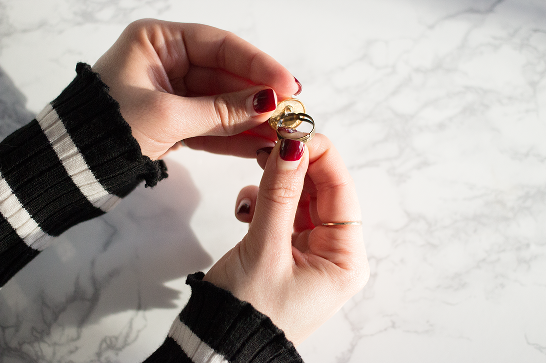 How to Upcycle a Vintage Pin Into a Stylish Ring