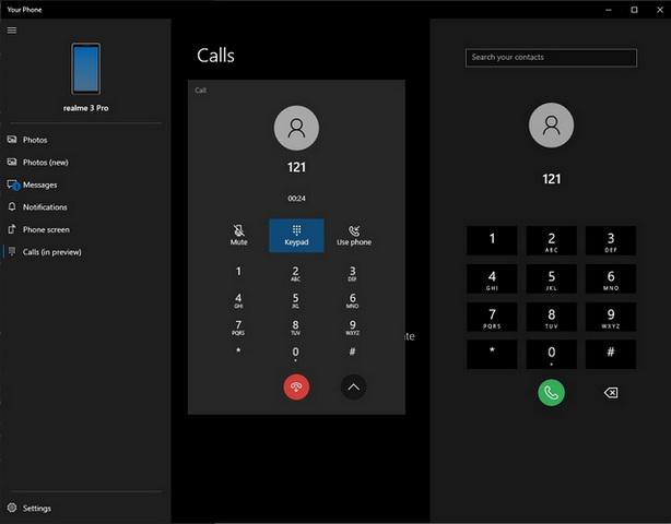 اطلاق ميزة اجراء واستقبال المكالمات علي الاندرويد من خلال ويندوز 10