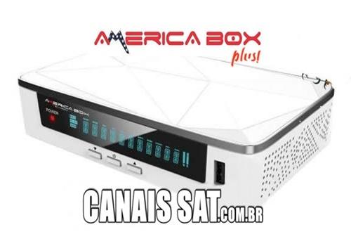 Americabox S205 + Plus (H1.65) Nova Atualização V1.43 - 26/08/2020
