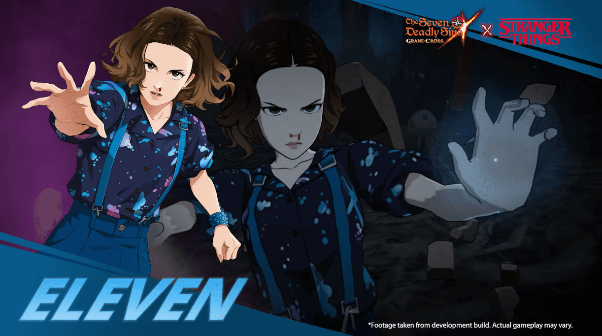 Seven Deadly Sins Collab Stranger Things eleven