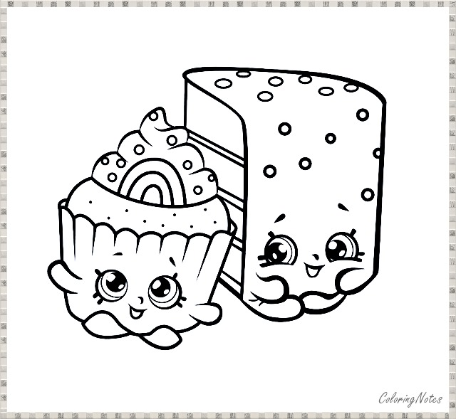 Funny Christmas Cookies Coloring Pages for Kids Free ...