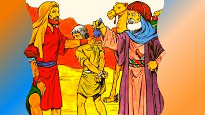 Os irmãos de José o vendem aos ismaelitas