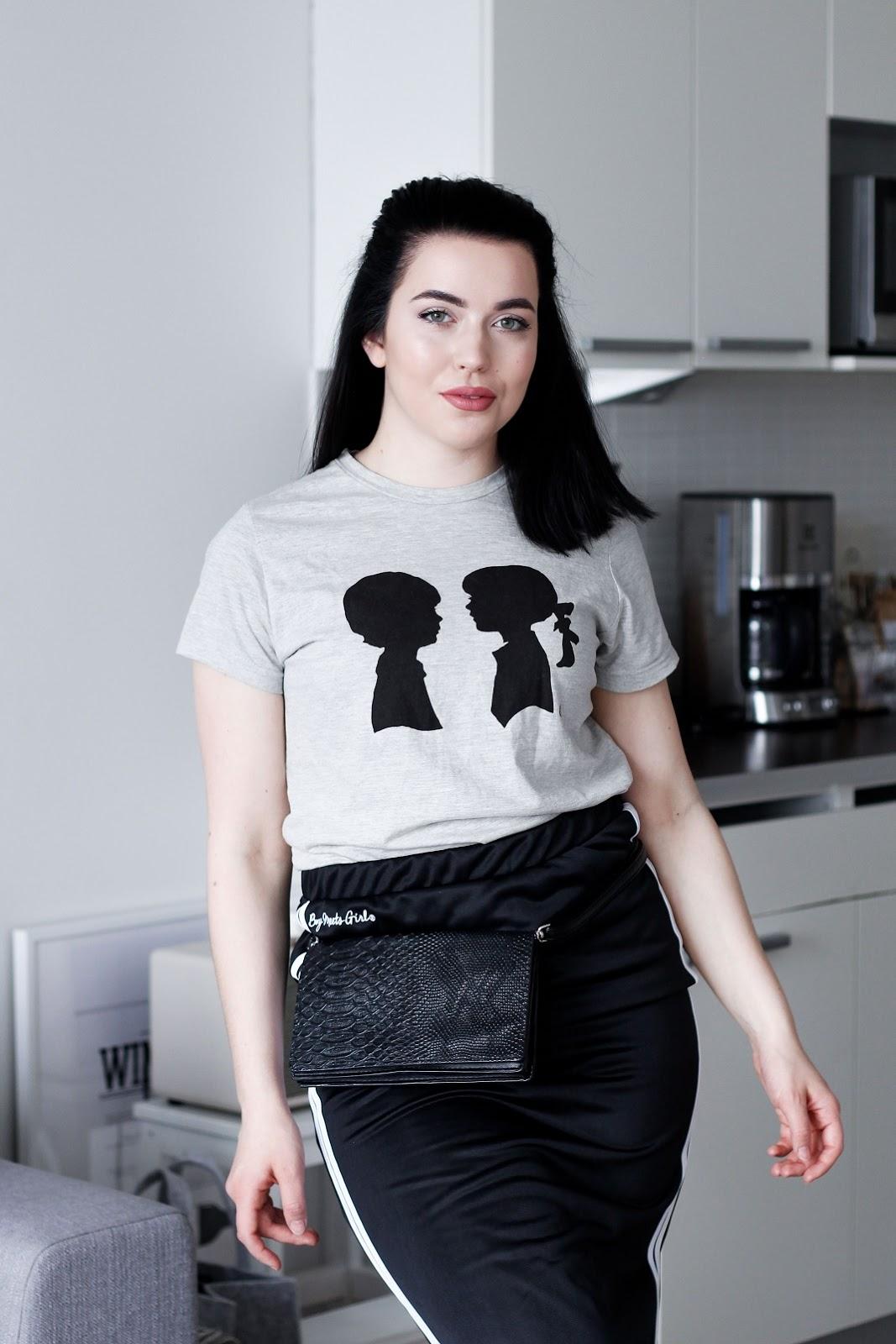 T-paita ja hame Boy Meets Girl (saatu)   Laukku Lindex 49c1d70503