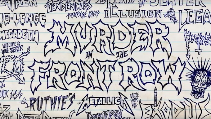 Trailer de documental sobre el thrash de los 80s