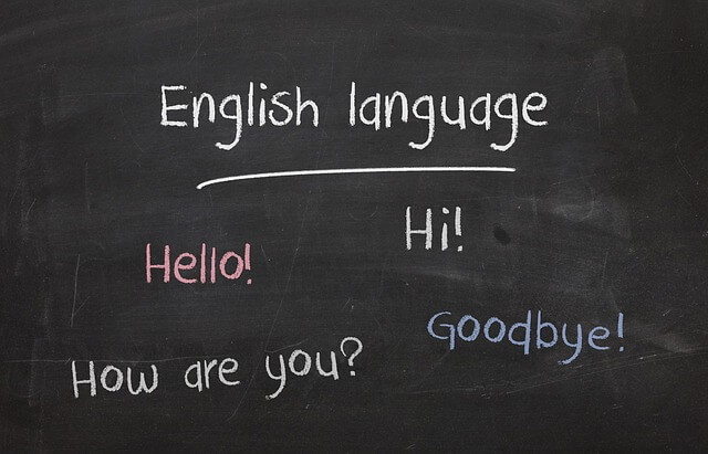 القواعد في اللغة الإنجليزية