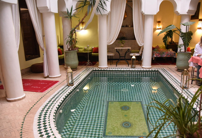 marrakech cos'è un riad