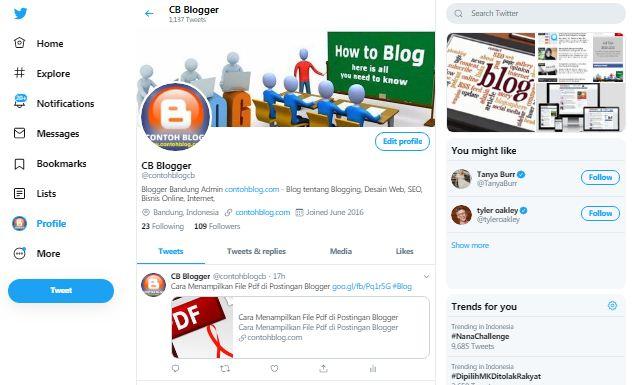 Fitur Anyar dalam Tampilan Baru Twitter
