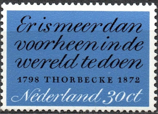 Netherlands - 1972 Thorbecke