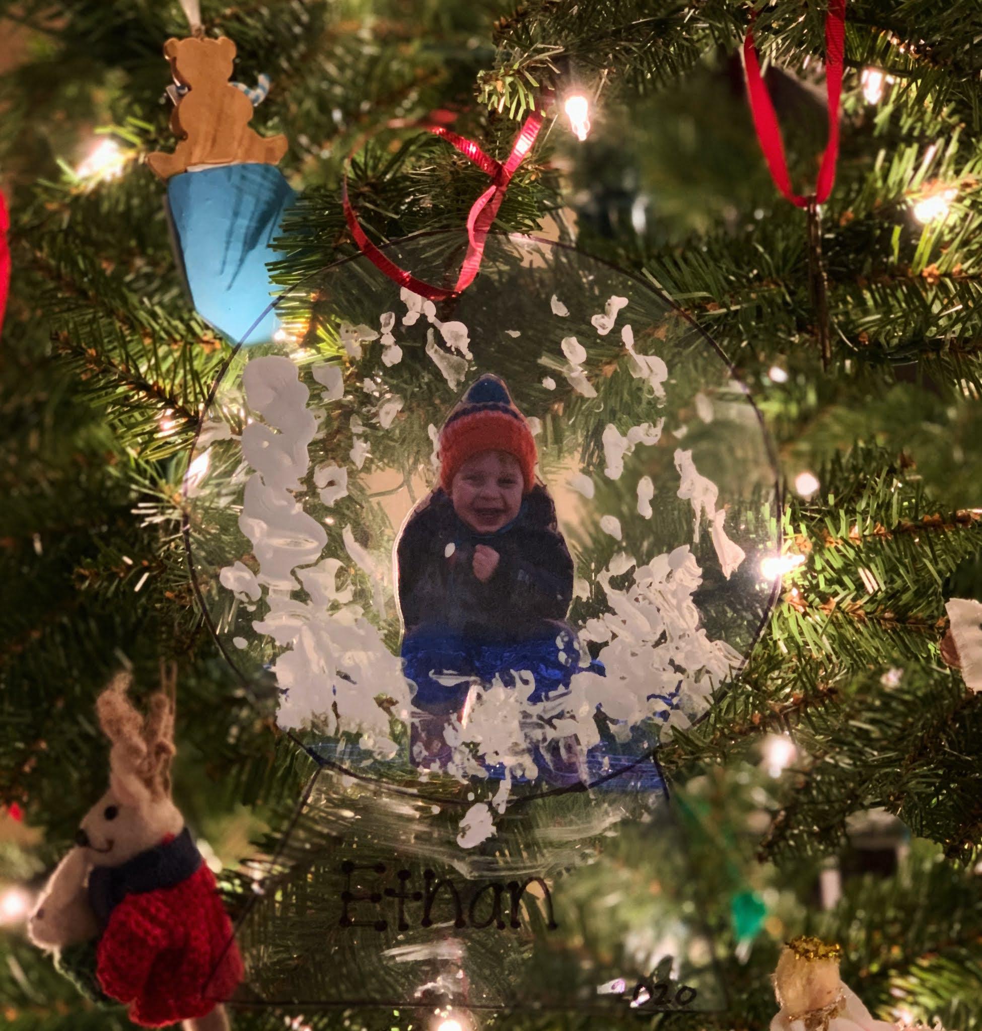 homemade ornament kids craft