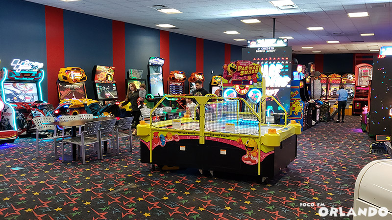 Arcade do Disney's All Star Sports.