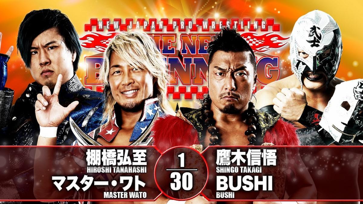 Cobertura: NJPW Road To The New Beginning 2021 – Day 02 – Voando alto!