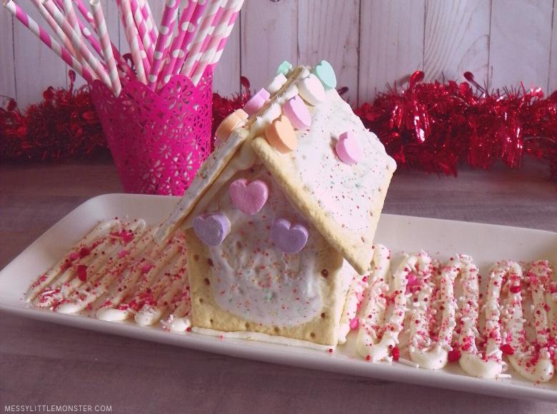 Valentine's pop-tart house