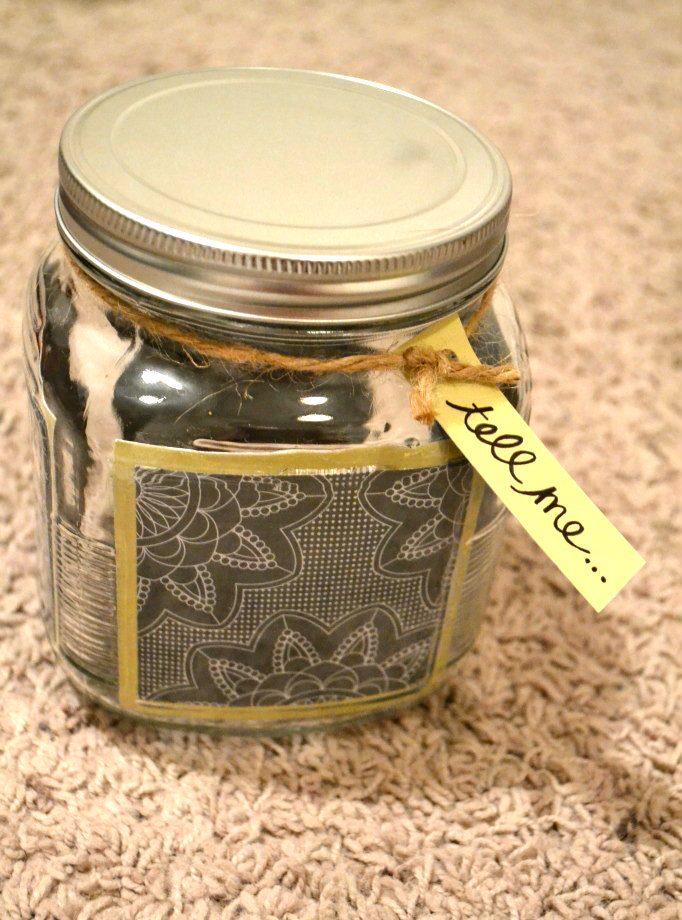 Bits And Pieces Of Flair Tutorial Conversation Starter Jar