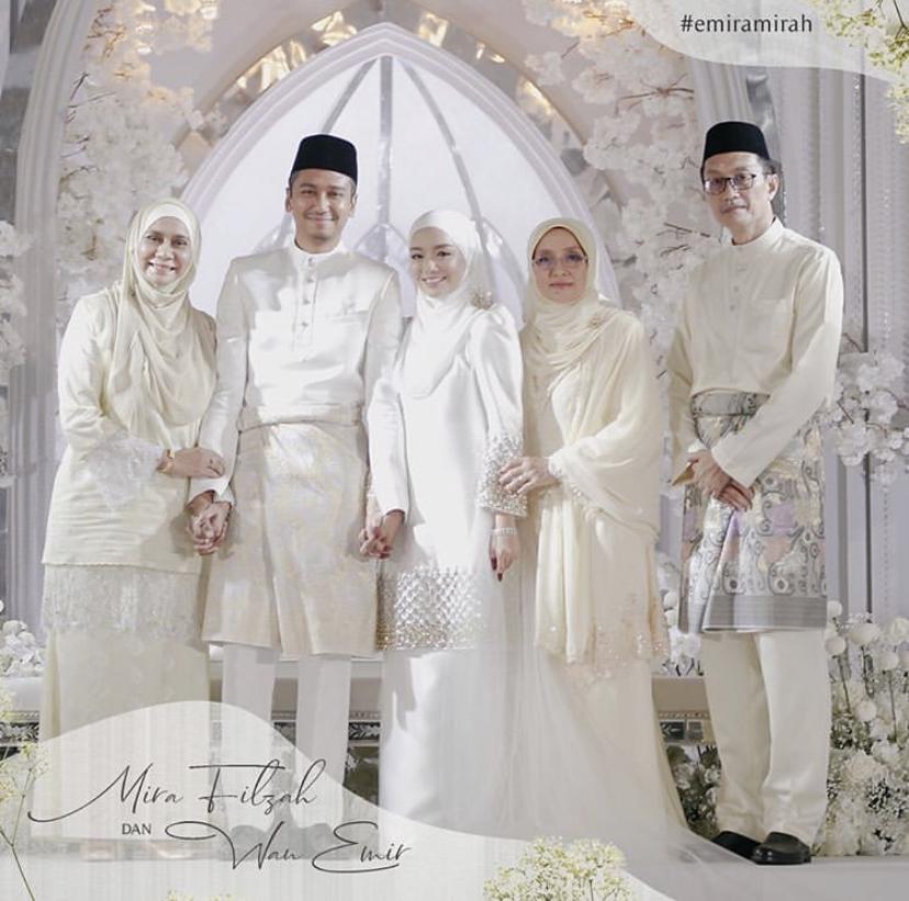 pernikahan-mira-filzah-dan-wan-emir