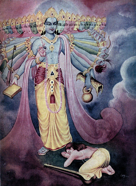 Lord Vishnu and Sage Narada