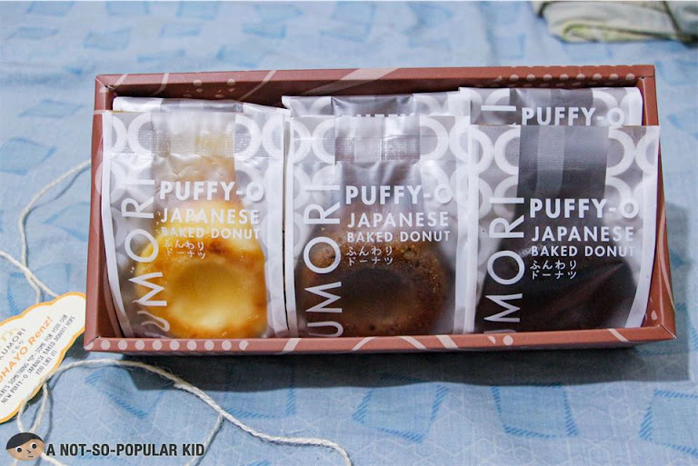 Individually packed Kumori Puffy O