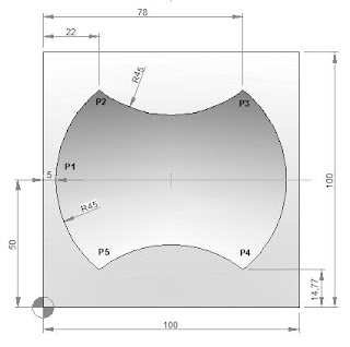 CNC Programming Examples - Ramping Milling