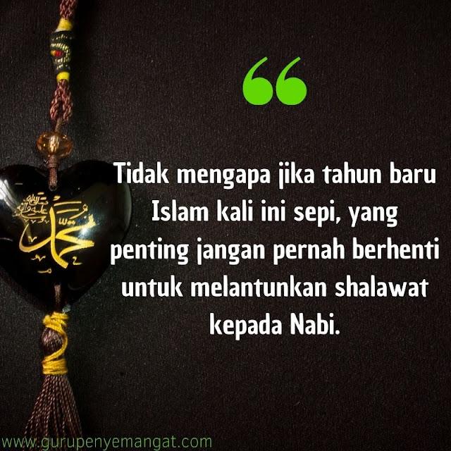 Kata Bijak Tahun Baru Islam 1443 H Ajakan untuk Bershalawat kepada Nabi