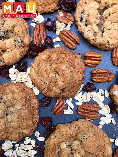 mau cocina de todo galletas avena arandanos nuez receta facil las mejores