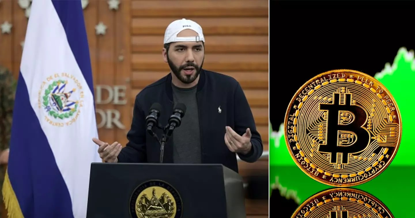 Every Adult In El Salvador Will Receive $30 In Bitcoin As The Cryptocurrency Will Become The Nation's Legal Tender